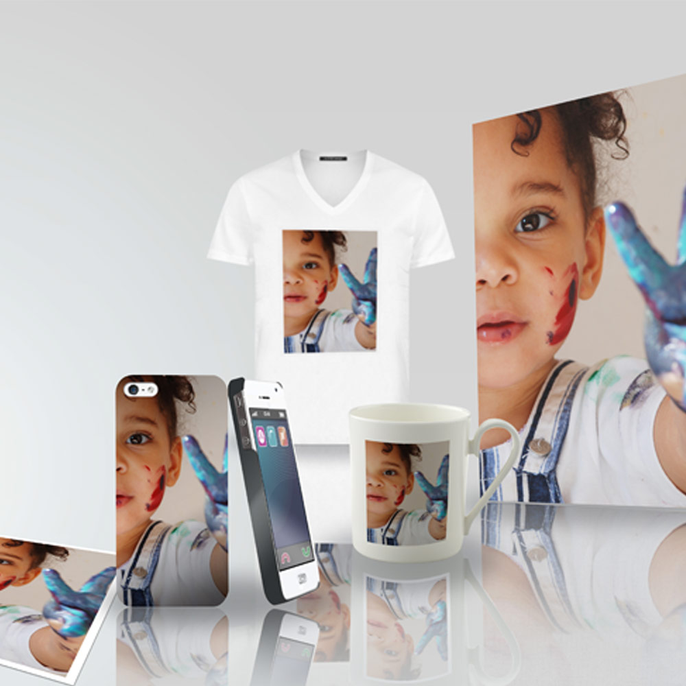 impression t-shirt avec photo